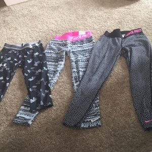 Other - Lot of 3 athletic tights
